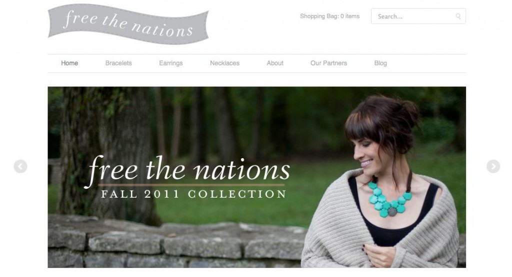 FREE THE NATIONS - Purposeful Fashion — Welcome_1316665926528