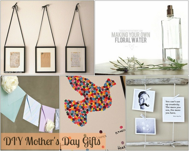 Diy mother 39 s day gifts made to Mothers day presents diy