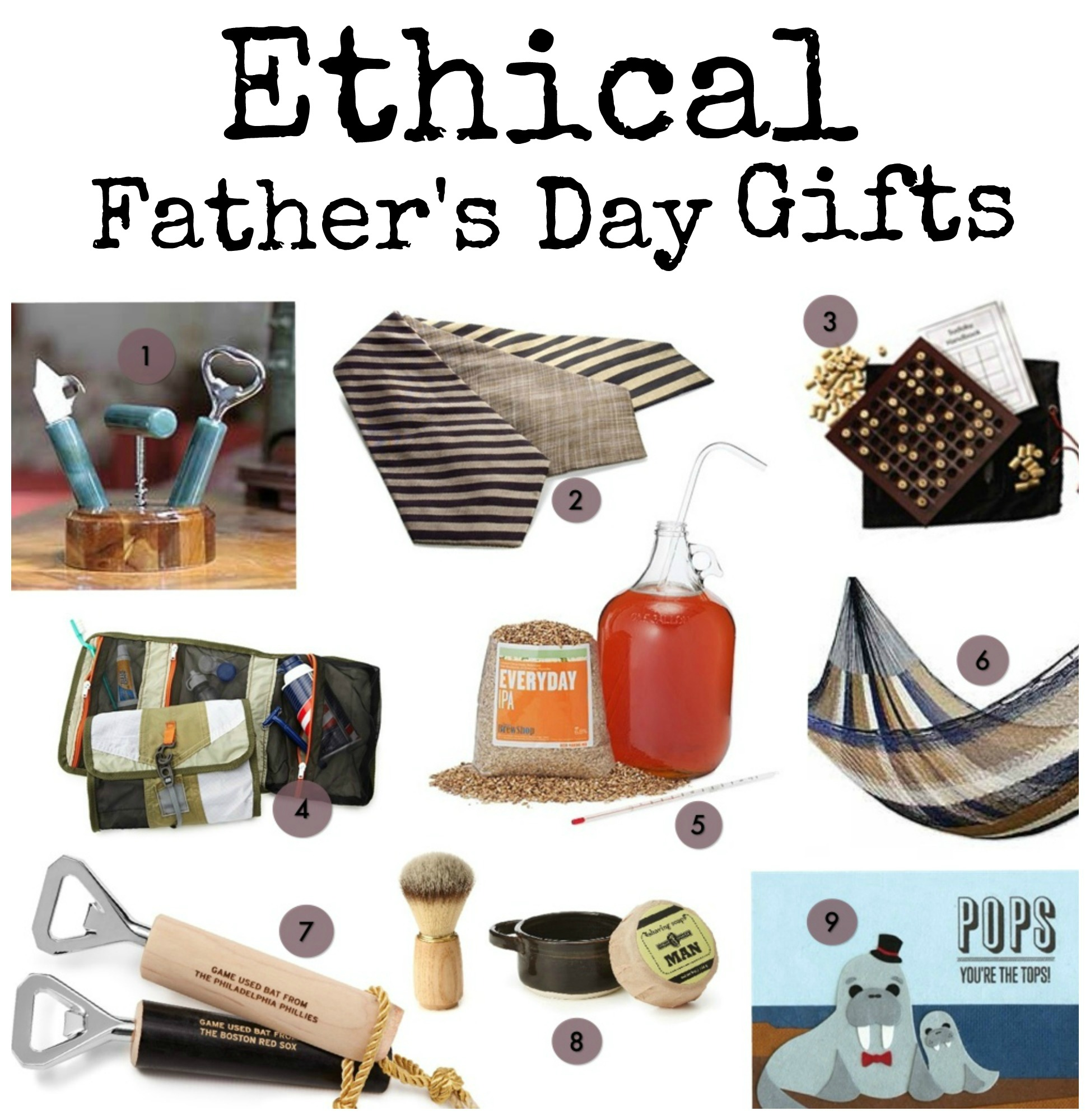 ethical fathers day gifts