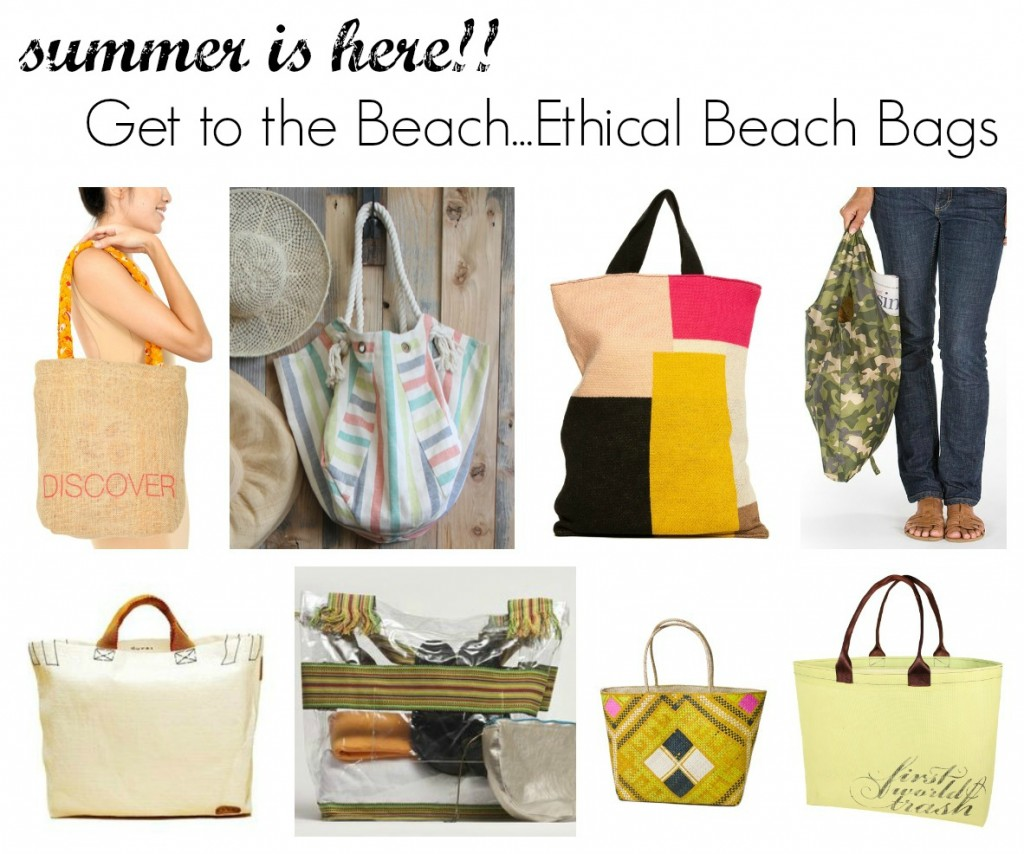 ethical beach bags