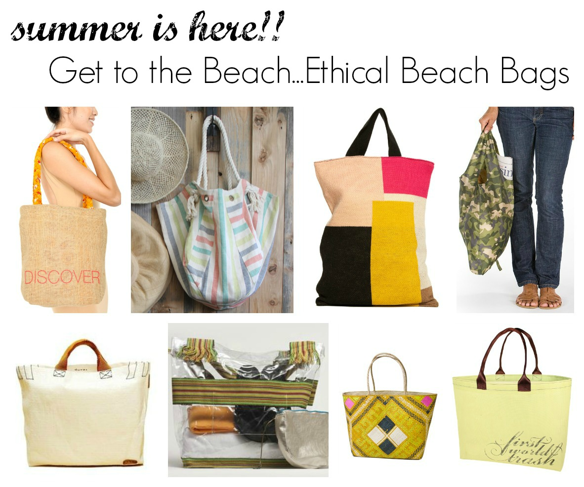 Summer is Here-Ethical Beach Bags - Made-To-Travel.com