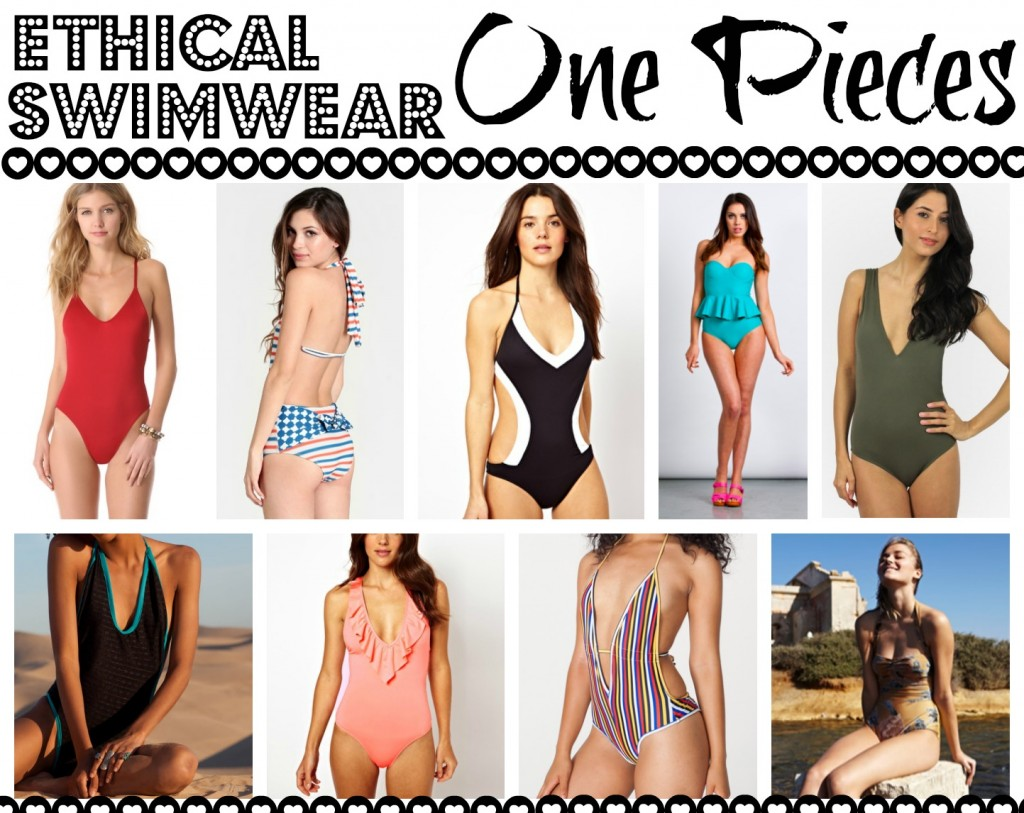 ethical swimwear one pieces