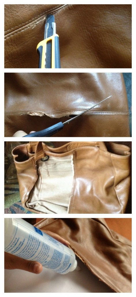 diy embelished bag