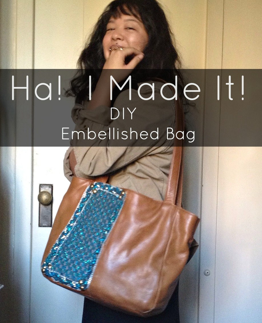 diy embellished bag 2