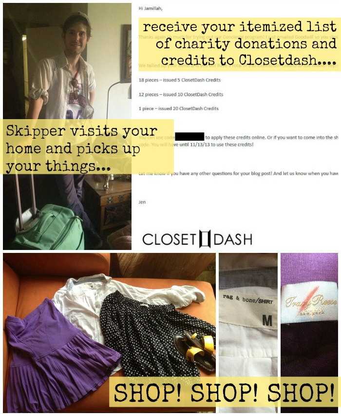 closetdash process
