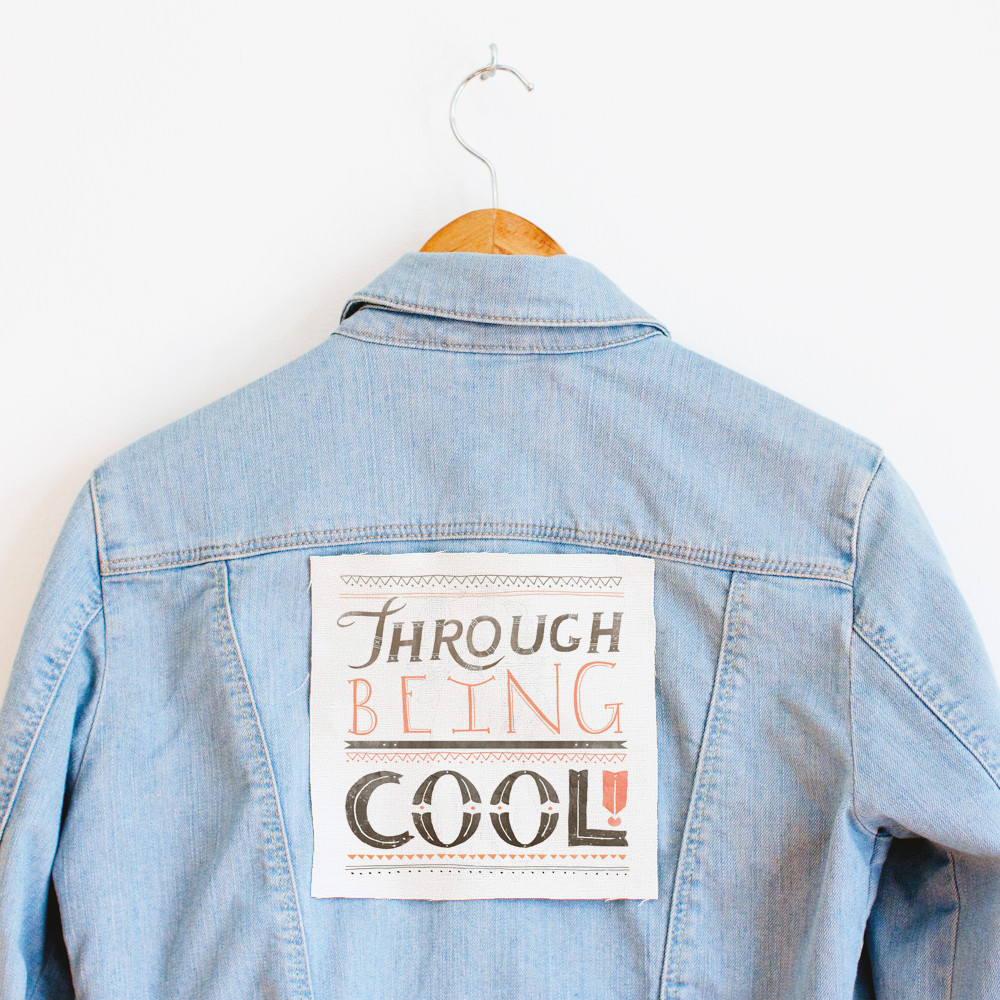 patch through being cool