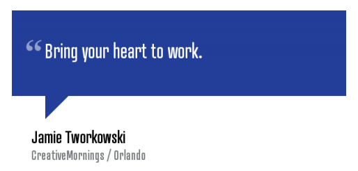bring your heart to work