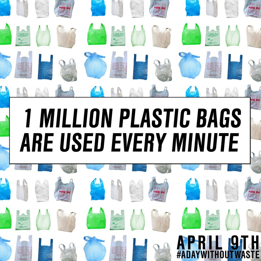 a day without waste-plastic bags