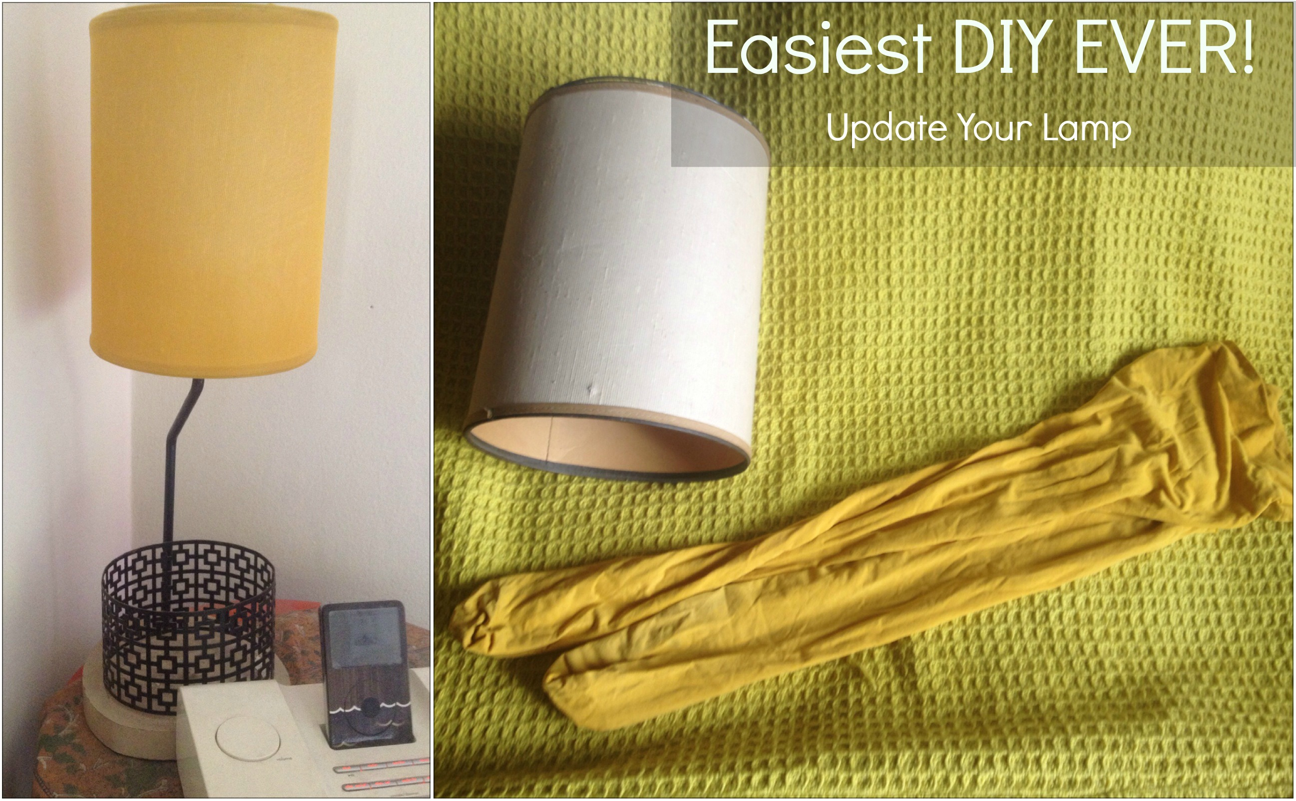 Ha! I Made It! - DIY Lampshade - Made-To-Travel.com
