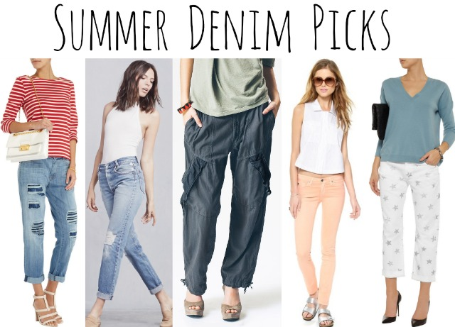 summer denim picks