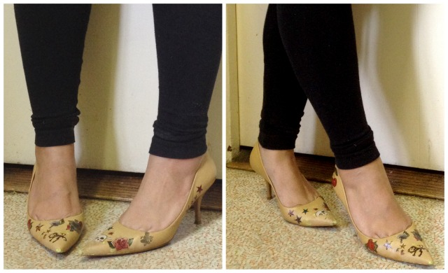 diy tattooed shoes- 2