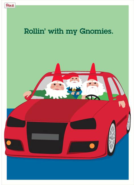 rolling with my gnomies