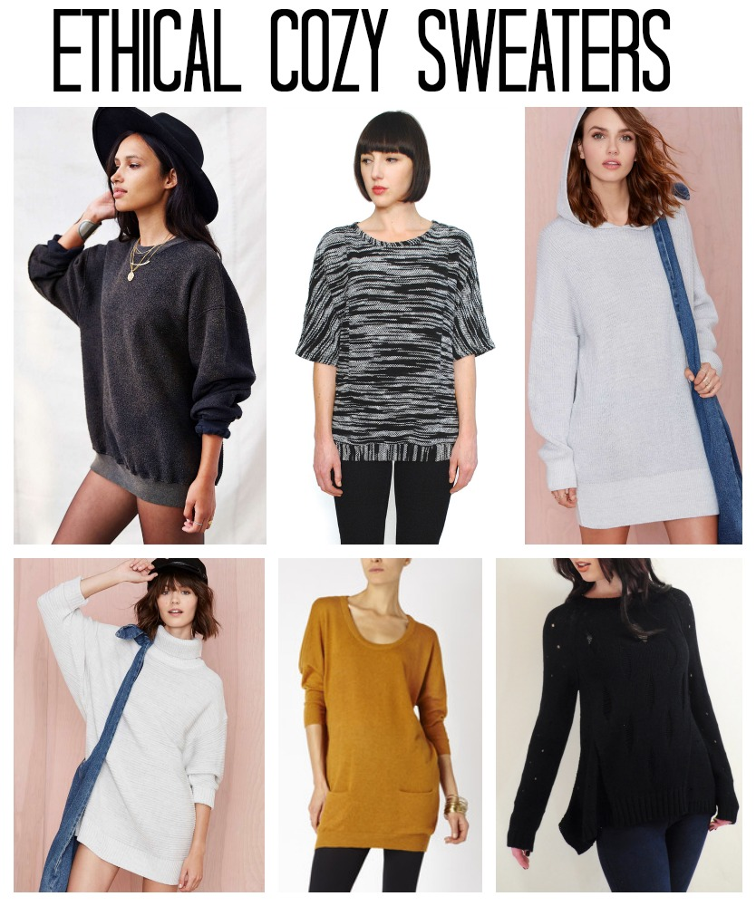 ethical oversized sweater