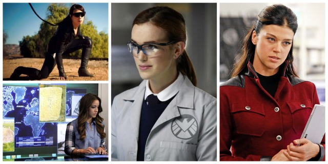 women of agents of shield