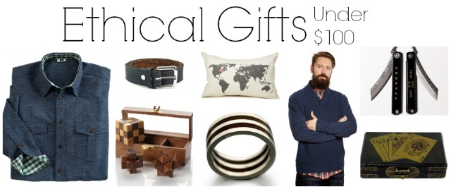 ethical gifts for men under $100