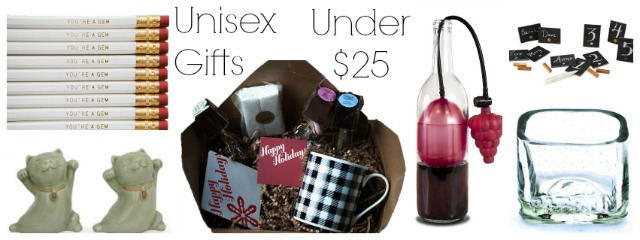 unisex ethical gifts under 25