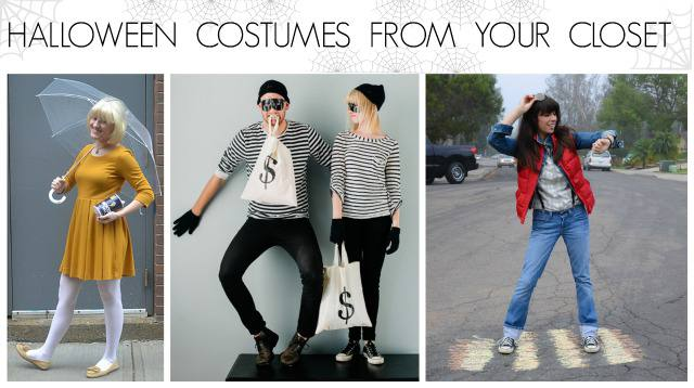 halloween costumes from your closet- 1